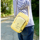 Walking cooler crossbody shoulder bag