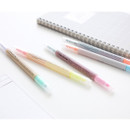 10 Colors double ended highlighter pen set