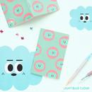 Light blue cloud - Som som small lined notebook
