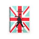 Mint - London wirebound lined notebook