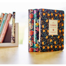 2016 Premium flower weekly undated small journal