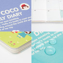 Detail of 2016 Hello coco monthly dated diary