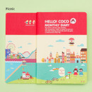 Picnic - 2016 Hello coco monthly dated diary