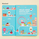 Blueland - 2016 Hello coco monthly dated diary
