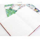 Line note - D pattern undated diary scheduler