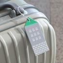 Gray - City travel luggage name tag