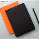 Modern black - 2016 Record weekly dated large planner