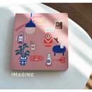 Imagine - Du dum daily 365 undated diary