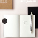 Note - Bonjour ciao hello undated planner