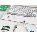 Line note - Desk wirebound dated planner