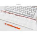 2016 Calendar - Desk wirebound dated planner