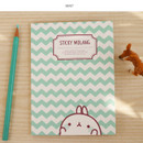 Mint - Molang cute pattern sticky note