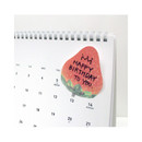 Strawberry sticky memo notes 20 sheets