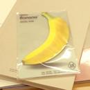 Banana sticky memo notes 20 sheets