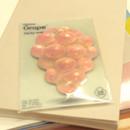 Grape sticky memo notes