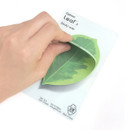 Leaf sticky memo notes 20 sheets - A