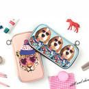 Fashionable animal zipper pencil pouch