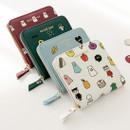 Ghost pop zip around small wallet ver.2