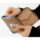 Card pocket - Ghost pop zip around small wallet ver.2