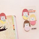 Smile sticky memo notes bookmark tabs