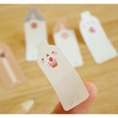Detail of Molang sticky memo notes bookmark