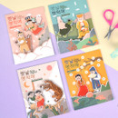 Package for Korean fable magnet set