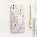 Bear - Rim TPU soft iPhone 6 plus case