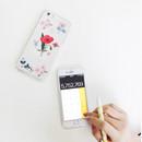 Inspire red - Rim TPU soft iPhone 6 plus case