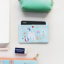 Mint bear - Alice Rim flat card case holder