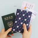 Squirrel - Rim pattern passport cover case