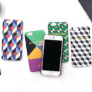 geometric pattern polycarbonate case for iPhone 6