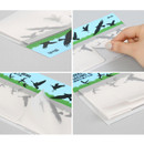 Detail of Animal translucent sticky memo note set