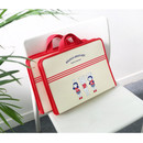 Brunch brother zip around file pouch bag
