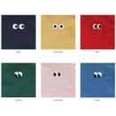 Colors of Som Som cotton drawstring pouch