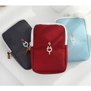 Travel charger pouch large