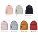 Colors of Nuevo mini office leather backpack with tassel