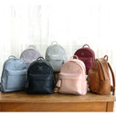 Nuevo mini office leather backpack with tassel