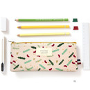 02 - Dorothy and Alice poly zipper pencil pouch
