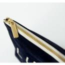 Detail of Around'D lucky zipper pouch
