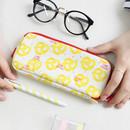 Pretzel - Rim pattern cotton pen pencil case