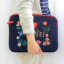 Inspire - Rim pattern 13 inches laptop pouch case