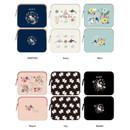 Rim pattern iPad multi pouch