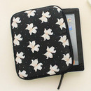 Lily - Rim pattern iPad multi pouch