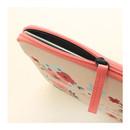 Detail of Rim pattern iPad multi pouch
