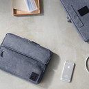 Cool Gray - All in one organizer for laptop