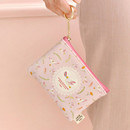 Pink - Willow story pattern coin case wallet