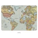 Retro - World map passport cover case ver.2