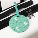 Mint Rabbit - Willow story pattern travel luggage name tag