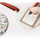 Willow story pattern travel luggage name tag