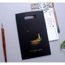 Black - illustration paper bag set